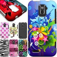 Hard Snap On Protective Designer Phone Cover Case for ZTE Warp LTE N9510