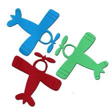 Avión #2 8x8.5cm Flying dado corta fiesta elaboración de Tarjetas Invitación Cumpleaños AccuCut