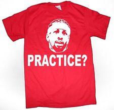 "Allen Iverson Philadelphia 76ers ""Practice"" T-shirt S-XXXXXL Youth & Adult sizes"