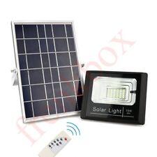 Faro led da esterno da 10watt a 100watt con batteria interna e pannello solare