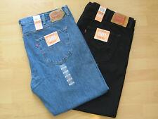 LEVI´S Herren Jeans 501 BIG & TALL W 46 48 50 blau + schwarz NEU Übergröße Levis
