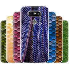 dessana Fisch Schuppen Muster TPU Silikon Schutz Hülle Case Handy Tasche für LG