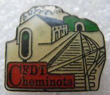 Pin's CFDT Cheminots Gare SNCF #267