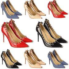 New Women DbDk Konily-8 Denim Open Toe Ankle Strap Stiletto Sandal