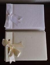 Vuoto Plain FAI DA TE album fotografici in due dimensioni bianca o avorio