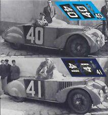 Calcas Chenard Walcker Tank Le Mans 1937 40 41 1:32 1:43 1:24 slot decals