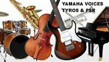2280  Voices Pour YAMAHA GENOS - TYROS- PSR S /SX