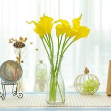 10x Calla Lily Artificial Flower Home Decor Simulation Flower Craft Art Romantic
