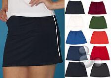 Ladies Skort Size 4 8 10 12 14 16 18 20 22 Training Skirt Shorts Tennis
