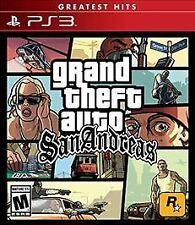 Grand Theft Auto San Andreas PlayStation 3 FREE SHIPPING!!