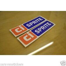 CI Caravan Sprite - (70's SERIES) - Stickers Decals Graphics - PAIR