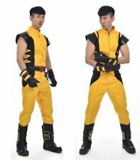 "Wolverine James ""Logan"" Howlett X-Men cosplay costume!Free shipping"