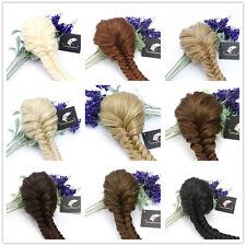 Superior Qualität Clip in Fischschwanz geflochtener Pony Tail Hair Auszug Braid