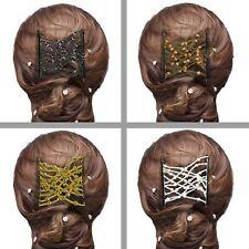 Magic Hair Slide Double Peigne Cravate Bande Queue De Cheval Chignon rapide Salon Style Accessoire