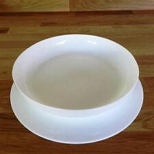Redondo Set de Mantel individual - Blanco