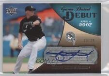 2007 Upper Deck Exquisite Rookie Signatures #GDD-ML Matt Lindstrom Auto Card
