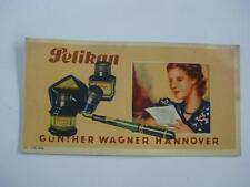 1930s VINTAGE GERMAN ADVERTISING BLOTTING PAPER PELIKAN
