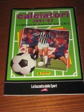 ALBUM CALCIATORI PANINI GAZZETTA DELLO SPORT 1991/92
