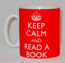 Keep Calm And Read A Book Mug Can Personalise School Teacher Librarian Love Gift