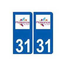 31 Plaisance-du-Touch logo ville autocollant plaque stickers