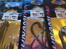 Tsunami Pro - Black O'Shaughnessy Hooks - 8/0 - 1/0 - Sea Hooks