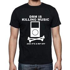 DRM killing music Rip Off Bones Mp3 T-shirt Tee