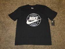 Men's NIKE SHORT SLEEVE T-SHIRT AO2993 010 - Athletic Cut - Black Tshirt Tee