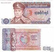 Burma 35 Kyats UNC   P-63