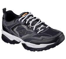 Skechers Wide Fit Navy Shoes Men's Memory Foam Sport Train Comfort Sneaker 52700