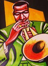 FREDDIE HUBBARD PRINT POSTER jazz trumpet blue note this is jazz hub tones cd
