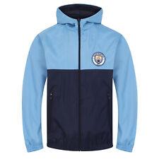 Manchester City FC - Chaqueta cortavientos oficial - Para niño - Impermeable