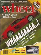 Wheels Feb 92 HSV VP Clubsport Testarossa Discovery TX3