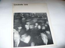 CASABELLA 320 1967 RIVISTA ARCHITETTURA URBANISTICA
