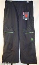 Spyder Jibardy Ski Snowboard Pants Navy 20K waterproof 40g insulated Large 12 14