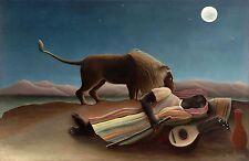 Henri Rousseau: The Sleeping Gypsy - Fine Art Print
