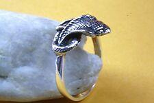 Anillo De Serpiente Cobra Serpiente Sello Anillo sielberring PLATA 925 217