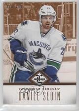 2012-13 Panini Limited #28 Daniel Sedin Vancouver Canucks Hockey Card