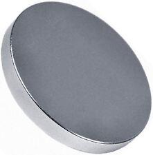 1 Neodymium Magnets 2  x 1/4 inch Disc N48 Rare Earth