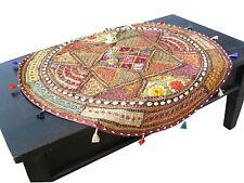 Tischläufer Wandteppich Wandbehang Tischdecke Patchwork Indien Orient Asien Goa
