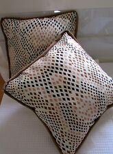 Kissen, Dekokissen 40x40 cm, Baumwolle+Wolle, Füllung Polyester
