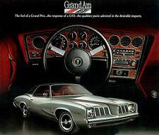 1973 Pontiac Grand Am - Promotional Advertising Poster