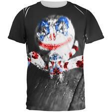 Patriotic Killer Clown Spider Of Halloween All Over Mens T Shirt