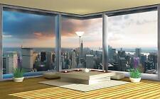 Vlies Fototapete Fototapeten Tapeten Tapete für die ECKE NEW YORK 3FX447VEEXXXL