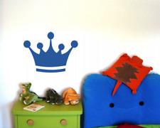 Wandtattoo Krone Wandsticker Crown König Prinzessin  25 Farben 6 Größen