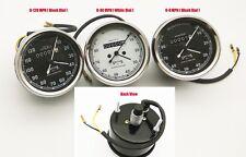 0-80 Mph & 0-120 Mph Vintage Replica Smith Speedometer BSA Royal Enfield Norton