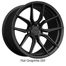 XXR 559 18x10 5-4.5 35 Offset 73.1mm Bore Flat Graphite Wheel Rim