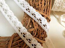 Cute 15mm/5/8inch Ivory Cream Heart Stretch Flat Lace Trim. Sewing/Crafts.Bridal