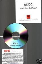 "AC/DC ""Rock n Roll Train"" 1 Track Promo Extreme RARE"