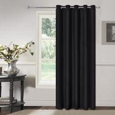 Microfiber Fabric with coating 100% Blackout Eyelet Curtain 2Panels/Bag
