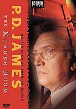 P.D. James - The Murder Room   DVD, BBC Video 2004, Martin Shaw